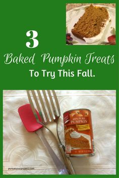 Recipe round-up of baked pumpkin treats to try in your fall baking. via @pursueproject