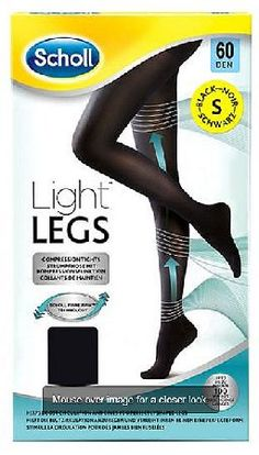 Scholl Light Legs Tights black 60 denier Small 1 Scholl Light Legs Tights black 60 denier Small 1 Pair: Express Chemist offer fast delivery and friendly, reliable service. Buy Scholl Light Legs Tights black 60 denier Small 1 Pair online from Express http://www.MightGet.com/january-2017-11/scholl-light-legs-tights-black-60-denier-small-1.asp