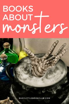 Kids love reading books about monsters and often use fear to work through their emotions. Check out our favorite monster books for kids! Reading Books, Love Reading, Books To Read, Educational Activities For Kids, Preschool Activities, Subscriptions For Kids, Baby Sensory Play, Book Subscription, Monster Book Of Monsters
