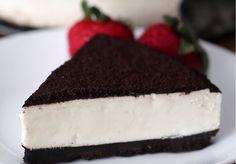 No-Bake Cookies & Cream Cheesecake (Cheesecake Recipes Oreo) Cookies And Cream Cheesecake, Cheesecake Recipes, Dessert Recipes, Oreo Cheesecake Recept, Oreo Cake Recipes, Cinnamon Roll Cheesecake, How To Make Cheesecake, Raspberry Cheesecake, Pumpkin Cheesecake