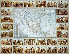 Grupos etnicos durante el Porfiriato