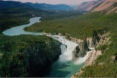 Virginia Falls in Nahanni National Park, Northwest Territories