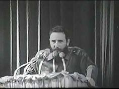 Fidel Castro lee carta despedida Che Guevara, 3 octubre 1965.flv