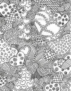 Abstract coloring pages to download and print for free | 111 ...