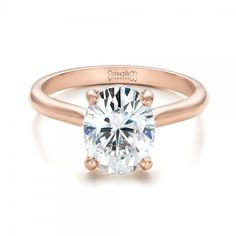 Rose gold solitaire from @josephjewelry
