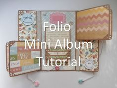 Mother's Day Folio Mini Album Tutorial