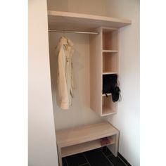 So ist unsere garderobe geworden 3x kallax plus rote - Ikea pax schuhe ...