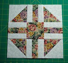 Paths and Stiles Quilt Block - signature quilt block idea