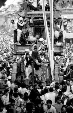 Old nepal seto machindranath