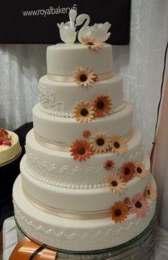 Royal Bakery, Tampere #weddingcake