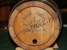 Tölgyfa Hordó Egyedi Felirat Égetéssel. Ajándék Ötletek Pálinkásoknak Whisky, Tray, Whiskey, Trays, Board