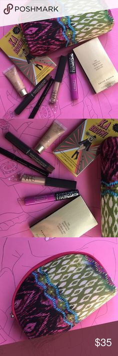 🆕🛍💕 8 piece makeup bundle Brand new 8 piece makeup bundle!!! Great for travel! All luxury brands featuring Benefit, NARS, Kevyn Aucoin, Eve Lom, Kat Von D and Nudestix!  Bundle and save!! Sephora Makeup