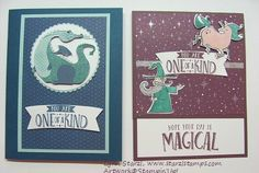 Magical Day Bundle, Myths & Magic Specialty Designer Series Paper http://www.starzlstamps.com/2018/01/magical-day-bundle-magical-day-stamp-set-magical-mates-framelits-dies.html