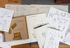 When it comes to dreaming up a new design, maker Brooke Woosley of Twenty Two Hours might sketch it digitally or by hand.