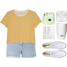 A fashion look from April 2016 featuring Monki t-shirts and New Look shorts. Browse and shop related looks.