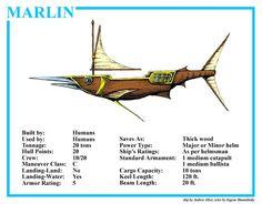 Spelljammer Ship - Marlin