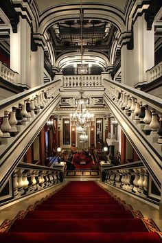 Luxury Accommodations  ~ℬℯℓℓℯ~ STAIRS CHERIE Interior Exterior, Interior Architecture, Beautiful Architecture, Interior Design, Chateau Hotel, Deco Paris, Take The Stairs, Luxury Accommodation, Luxury Hotels