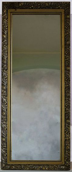 Gorgeous Vintage Mirror Ornate Gilt Frame by SpearmintGallery