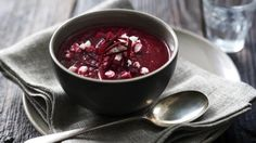 BBC Food - Recipes - Beetroot soup with feta
