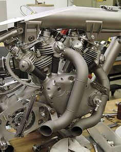 Squeeze a Vincent engine in it and anything can look fierce.