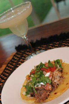 Carnitas Taco & Margarita by Gabriela Dedolph