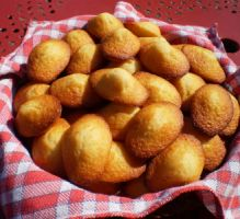 Recette - Madeleines au yaourt maison - Notée 4.8/5 par les internautes Easy No Bake Desserts, Great Desserts, Delicious Desserts, Yummy Food, Snack Recipes, Cooking Recipes, Snacks, Chorizo, Quiche Muffins
