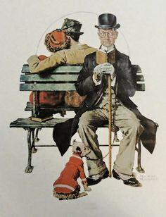 | Ilustração / Pintura | Norman Rockwell foi um conhecido ilustrador e pintor Americano do século XX. O seu estilo corresponde à ilu...