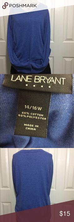 Lane Bryant Lightweight Sweater Sz 14/16.        #JEWELRY #POSHMARK #BLING #RODEO #FASHIONISTA #COWGIRL #SOUTHWEST #ARIAT #AZTEC #WESTERN #CHIC #FAITH #RUNWAY #CROSS #TRIBAL #BOHO #KENDRA #NAVAJO #STELLA  #SOUTHERN #SPARKLE #CHIC 💞💞 Lane Bryant Sweaters V-Necks