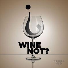 #Wine not? #WineQuotesÇ || Beso de Vino