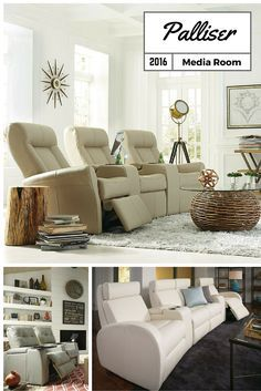 New introductions for Summer 2016.  Enjoy these stylish and comfortable media room seats today. Save on seats here!