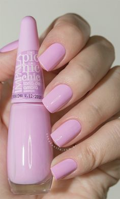 Impala picnic chic swatches nailed it uñas gel decoradas, uñ Love Nails, Fun Nails, Pretty Nails, Pastel Pink Nails, Manicure And Pedicure, French Gel, Pedicure Designs, Pretty Nail Designs, Perfect Nails