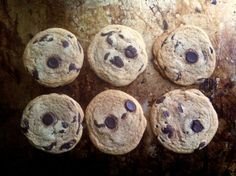 Salty Malted Choc Chip Cookies - Not for Coco