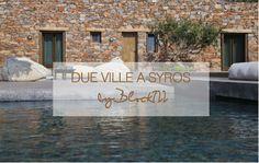 Due ville a Syros
