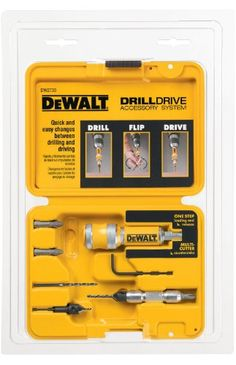DEWALT 8 Piece Quick Change Drill and Drive Set ** Discover more by checking out the photo link. (This is an affiliate link).