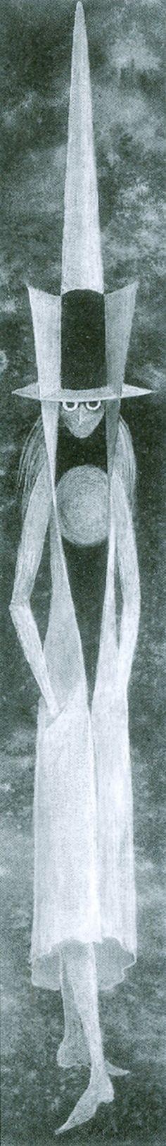Esquiador, 1960. – Remedios Varo