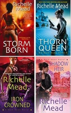TBR, Dark Swan series by Richelle Mead (Paranormal - Romance) HATED THE ENDING!