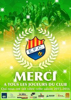 Mot du président : Je n'ai qu'un seul mot à dire de cette saison : exemplaire ! www.elnefc.fr