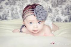 crochet newborn headband pattern free