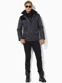 Sandown Quilted Jacket - Polo Ralph Lauren Quilted Jackets - Ralph Lauren UK