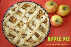 Apple Pie (Dutch style)