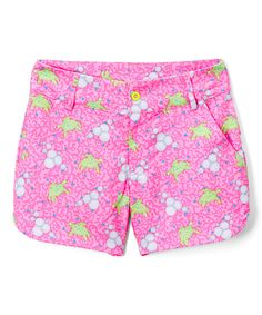 Look at this Turtles and Tees Bubbles & Bogeys Cameron Shorts - Kids & Tween on #zulily today!