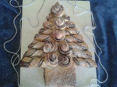 Albero di Natale Panbrioche,NUTELLA CHRISTMAS TREE – Tear and Share Bread