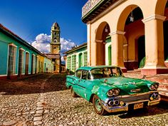 GTS Intern, Blaire Dawson, Always Dreamed Of Traveling to Cuba, Now She Can.