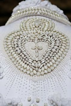 Givenchy Couture 2010 Reminds me of sailor's valentine Couture Embroidery, Beaded Embroidery, Couture Embellishment, Embellishments, Embroidery Fashion, Couture Details, Fashion Details, Lesage, Fabric Manipulation