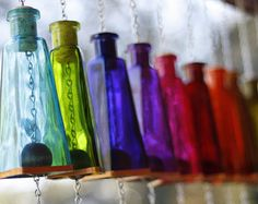 Never before has the beauty of sight and sound complimented each other so perfectly. These Wine Bottle Wind Chimes are the perfect addition to any back yard or patio. We expertly cut a 750ml wine bottle and wrap it in a beautiful cooper accent that lets the sunlight dance off it. Then we attach a beautifully stained wooden ball and heart flag that grabs the wind as it passes by. This wind chime is a gorgeous addition to any home or makes a perfect gift for a wine lover or anyone that enjoys…