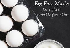 Top Five Egg Face Masks for tighter wrinkle free skin