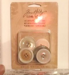 LOT OF 2 PACKS JIM HOLTZ IDEA-OLOGY PACK OF 10 ACCOUTREMENTS - SHABBY NEW #JIMHOLTZ