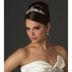 Floral Radiant Tiara - USA Bride