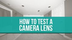 How to test your camera lenses.  http://f64academy.com/test-camera-lenses/  Testing your camera lenses doesn't have to be rocket science! The first thing I do when I get a new wide angle lens is test it out.