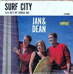 45cat - Jan And Dean - Surf City / She's My Summer Girl - Liberty - USA - 55580